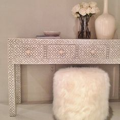 White on white with tons of texture @bernhardtinc #hpmkt