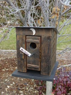 When Nature Calls Outhouse Birdhouse
