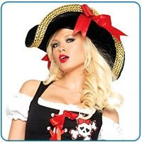 Arrr, matey! We're bringing you the hottest new Halloween costumes for this year. The gals at Babygirl Boutique present Sexy Pirate Girls! Many...