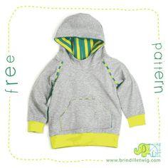 Free hoodie für Kinder Ingyenes Varrás 58e0a7d8c8