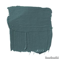"""Mere Green 219 - Farrow & Ball """"We've all had our fill of ruby, sapphire, and emerald. This is like the missing jewel tone we only get in peacock feathers. It's rich and still playful — it can be a formal or sort of decadent color, and it looks beautiful with accents of white lacquer or dark wood."""" —Celerie Kemble"""