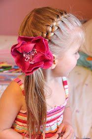 Java Mamma: Little girl summer hair