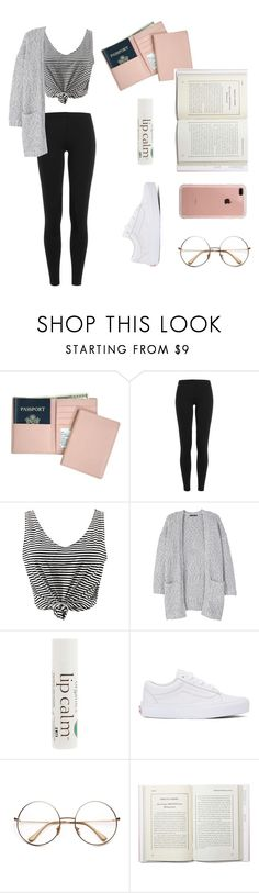 """""""Don't talk to me, I'm reading"""" by aliselowry ❤ liked on Polyvore featuring Royce Leather, Polo Ralph Lauren, WithChic, MANGO, John Masters Organics, Vans and Belkin"""
