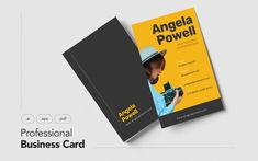 Professional and Minimalist Business Card V.28 Corporate Identity Template