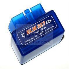 New Super Mini ELM327 v1.5 OBD2 OBDII Bluetooth Car Diagnostic Interface Scanner