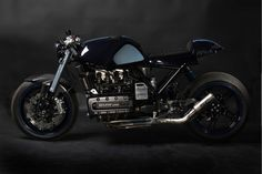 """After the BMW K100 caferacer we've posted yesterday, most custom """"Flying Bricks"""" are completely overshadowed. I must be honest that the love for that bike biased me. But still, this doesn't withhold me from posting custom BMW K-series. It's always a matter of taste AND a matter of time before an even better machine pops …"""