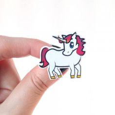 Unicorn Handmade Brooch