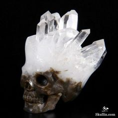 These Beautiful Skulls Are Carved Out of Crystal Rocks