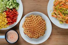 Prøv at skifte dine madpandekager ud med madvafler. Disse madvafler smager skønt, er meget nemme at lave og så er lidt variation jo altid godt!