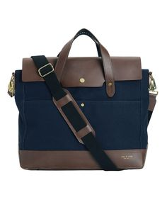 Rugged Briefcase - Navy | rag & bone Official Store