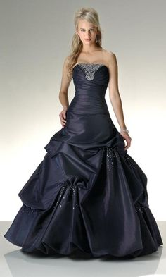 ball gowns- love the sparkles by the scrunches