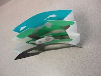 Thomas Elementary Art: 3rd Grade 3D Paper Landscapes