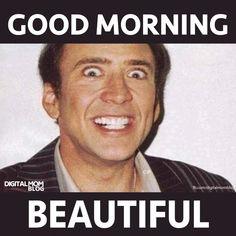 Funny morning meme Good Morning For Him, Good Morning Handsome, Good Morning Images, Morning Pictures, Funny Good Morning Memes, Morning Humor, Good Morning Quotes, New Memes, Funny Memes