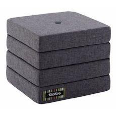 KK 4 Fold Blue grey w grey buttons