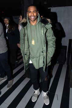 Big Sean in the adidas Yeezy Boost