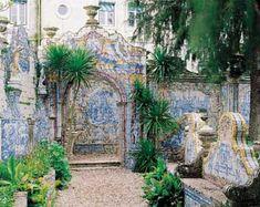 Jardim da Quinta dos Azulejos, dated middle of the 18th century