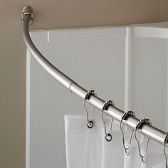Home ClassicsR Curved Shower Curtain Rod