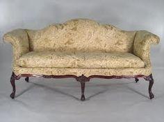 Georgian camel back sofa