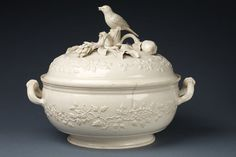 Soup Tureen and Bird perched cover   V&A Search the Collections