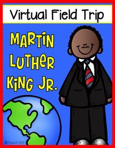 Martin Luther King Jr. - Virtual Field Trip plus FREEBIE - take a virtual field trip and learn facts about Martin Luther King Jr.