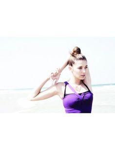 Oscar Mimosa Luxury Singlet - Purple
