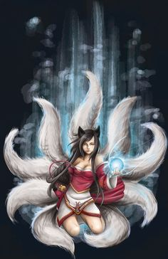 Ahri Revised by ~Ayashiroi on deviantART