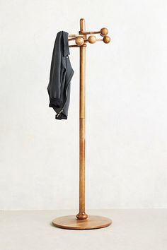 Almere Coat Rack from Anthropologie Coat Hooks On Wall, Palmer House, Painted Floors, Home Hardware, Danish Design, New Furniture, Hardwood Floors, Flooring, Home