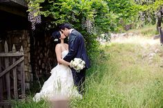 Love this rustic wedding
