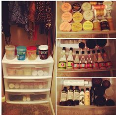 Organize your hair products