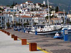 https://flic.kr/p/5697sb | Poros town | Poros harbour