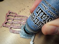 @Tim Harbour Holtz Disressed Stain (has to be one of my favorite products) #timholtz