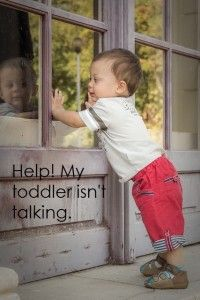 Frequently asked questions about toddlers who are not yet speaking.