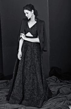 Caitriona Balfe at a Glamour Italia photoshoot