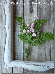 Cornice Shabby Chic: come dare nuova vita a vecchi fregi in legno!