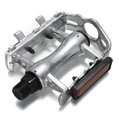Mountain Road BMX Bike Bicycle Aluminum Pedals Silver -- Details can be found by clicking on the image.