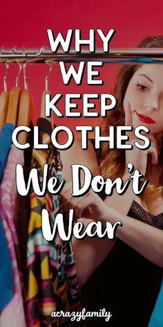 Why We Keep Clothes We Don't Wear and How to Get Past It – Underwear Models Diy Master Closet, Diy Closet Doors, Build A Closet, Small Closet Organization, Home Organization Hacks, Organizing Ideas, Declutter, Organize, Laundry Hacks