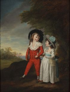 The Museum of the Shenandoah Valley, Winchester, VA, will hold an exhibition of 18th- and 19-century portraits by such artists of Rembrandt Peale, George Romney, Sir Joshua Reynolds and Thomas Gainsborough.  Through 18 November 2014. Image shown: The Shelly Children, John and Charlortte Anne by Sir William Beechey fromThe Museum of the Shenandoah Valley