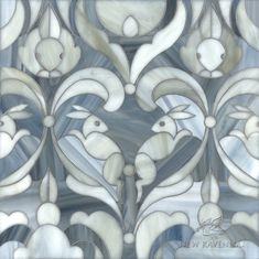 Hare Apparent, shown in Labradorite honed and Alabaster jewel glass, is part of the Kiddo™ Collection by Cean Irminger for New Ravenna. Mosaic Tile Designs, Mosaic Tiles, Art Tiles, Tiling, Ravenna Mosaics, New Ravenna, Willow Pattern, Color Psychology, Wallpaper Decor