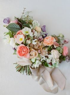 How To Select Little One Dresses Peach, White, And Lavender Bouquet By Joy Proctor Floral Wedding, Wedding Colors, Wedding Bouquets, Wedding Flowers, Flower Bouquets, Boquet, Flower Crowns, Ivory Wedding, Lavender Bouquet