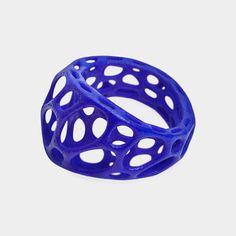 UV Blue Wave Ring - Josephine's MoMA purchase