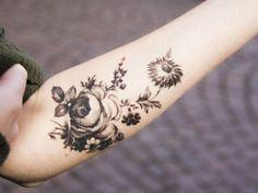 Flowers Tattoo   Ruth Tattoo Ideas
