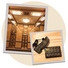 À frente da Bottega Veneta e expert em criar um sofisticado casualwear para a grife que leva seu nome @tomasmaier buscou inspiração nos próprios headquarters da grife em NY para sua coleção de inverno - bolsas e sandália ganharam estampas que que remetem ao grafismos déco do belo prédio Fuller Building desenhado pela Walker & Gillete em 1929. (Via @viviansotocorno e @nomello) #voguenanyfw #nyfw  via VOGUE BRASIL MAGAZINE OFFICIAL INSTAGRAM - Fashion Campaigns  Haute Couture  Advertising…