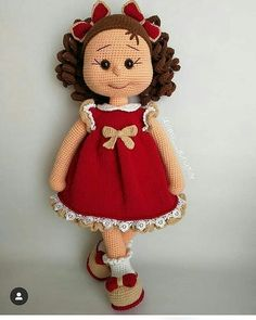 Free Amigurumi Crochet Doll Pattern and Design ideas – Page 37 of 37 – Daily Crochet! Crochet Dolls Free Patterns, Crochet Doll Pattern, Doll Patterns, Handmade Baby Gifts, Handmade Toys, Cute Crochet, Crochet Baby, Knitted Dolls, Amigurumi Doll