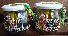 Potje Beterschap Little Presents, Diy Presents, Little Gifts, Cadeau Surprise, Jar Gifts, Teacher Appreciation Gifts, Inspirational Gifts, Homemade Gifts, Craft Gifts