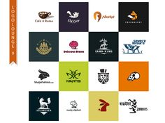 Selected logotypes and symbols by Stevan Rodic