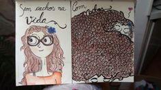 Cachos de Sábado -watercolor