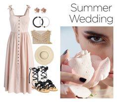 """Summer Wedding"" by shinjuhorie on Polyvore featuring Chicwish, Cynthia Rowley, Tory Burch, Allurez and Lokai"