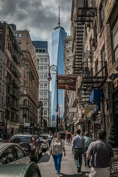 The new one by Henrique Stel on 500px, WTC, Manhattan, NYC