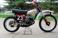 The bike is a replica of the Honda FMF Practice bike Marty rode in Honda Dirt Bike, Honda Bikes, Moto Bike, Honda Motorcycles, Mx Bikes, Motocross Bikes, Vintage Motocross, Cool Bikes, Honda 125