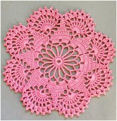 How to Easily Crochet Doily with Free Pattern If you think the doilies are too complicated, you are wrong, at the first sight this great and stunning may seem really difficult to some, but they are very These amazing Crochet Leaves Granny Squares features Free Crochet Doily Patterns, Crochet Motifs, Crochet Squares, Thread Crochet, Crochet Designs, Crochet Stitches, Free Pattern, Crochet Home, Crochet Gifts